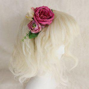 Atelier Yan - Trisha Headband - Pink Flower